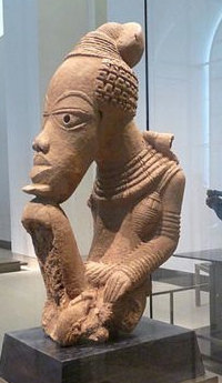 art africain homme nok